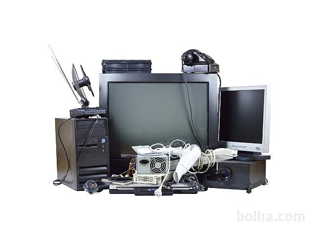Lixo eletrônico será recolhido em abri...